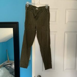 Lou and grey drawstring ankle pants